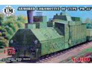 Armored locomotive of type  PR-43 - 1:72e - Unimodels - UMT680