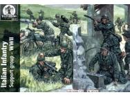 Italian Infantry Support group WWII - 1:72e - WATERLOO 1815 - AP034