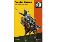 Prussian Hussars of Fredrich the Great - 1:72e - WATERLOO 1815 - AP052