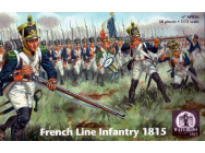 French Line Infantry 1815 - 1:72e - WATERLOO 1815 - AP056