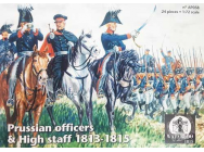 Prussian Officers & High staff 1813-1815 - 1:72e - WATERLOO 1815 - AP058