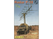 P-18 Soviet radar vehicle - 1:72e - ZZ Modell - ZZ72003