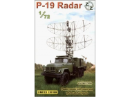 P-19 Soviet radar vehicle - 1:72e - ZZ Modell - ZZ72004