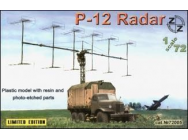 P-12 Soviet radar vehicle - 1:72e - ZZ Modell - ZZ72005