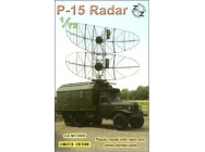 P-15 Soviet radar vehicle - 1:72e - ZZ Modell - ZZ72006