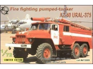 AZ-40 Ural-375 fire fighter - 1:72e - ZZ Modell - ZZ72009