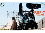 RSP-7 Radar, Limited Edition - 1:72e - ZZ Modell - ZZ72019