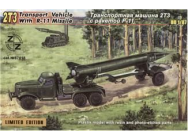 2TZ Soviet transport vehicle w. R-11 - 1:87e - ZZ Modell - ZZ87018
