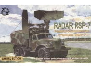 RSP-7 Soviet radar vehicle - 1:87e - ZZ Modell - ZZ87020