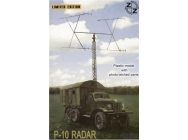 P-10 Soviet radar vehicle - 1:87e - ZZ Modell - ZZ87025