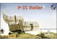P-35 Soviet radar vehicle - 1:87e - ZZ Modell - ZZ87027