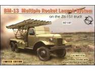 BM-13 Soviet rocket launch s. on ZiL-151 - 1:87e - ZZ Modell - ZZ87036