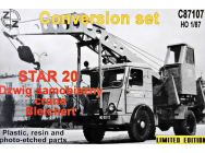 STAR 20 Crane Bleichert,Conversion Set - 1:87e - ZZ Modell - ZZC87107