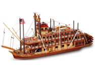 Mississippi - Bateau bois a construire - Serie 4 - OCCRE - 14003