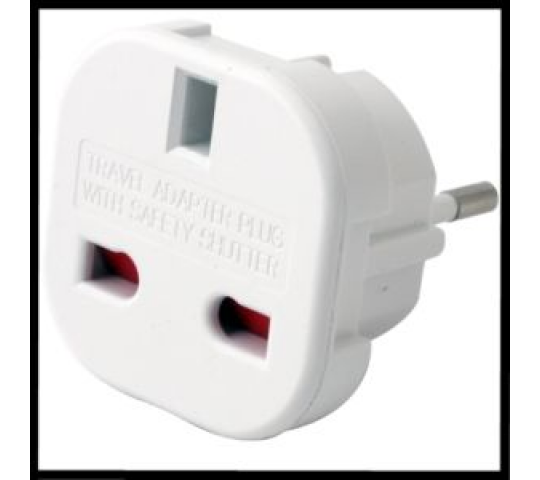 Adaptateur prise anglaise - Francaise - ADAP-UK