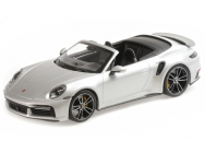 Porsche 911 992 Turbo S Minichamps 1/18e Gris Metal - 155069082