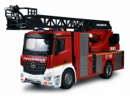 MERCEDES-BENZ AROCS FIRE TRUCK AERIAL LADDER 1/18 RTR - 22502