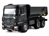 Mercedes Arocs LKW Kipper 1:18 RTR FULL METAL Sons et lumieres PRO-EDITION AMEWI - 22504
