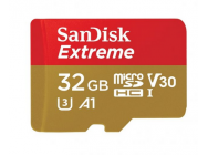 MicroSDHC SANDISK Extreme 32GB inkl. Adapter SDSQXAF-032G-GN6MA - 32256