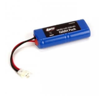 4.8V 220mAh NiMH Pack: Micro SCT, Rally, Truggy  by Losi - LOS-LOSB0846