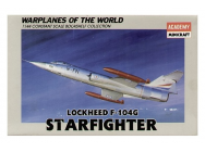 Lockheed F-104G Starfighter Minicraft Model Kits - MMK-14429