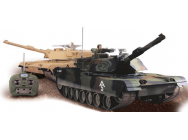 Char Abrams M1A2 1/16 RTR Camouflage vert - OST-TK44