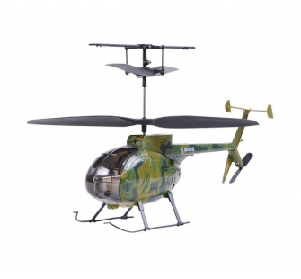 HELICO MINI-HUGUES 500 CAMOUFLAGE BI-ROTOR 3VOIES (SYMA S008) - SYM-S008