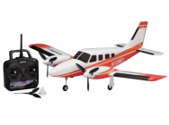 Airium Piper PA34 Twin ReadySet Rouge Kyosho