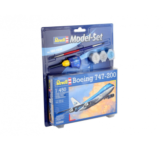 Model Set Boeing 747-200 - Revell - REV-63999