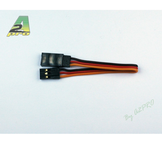 Rallonge 10cm JR - cable 0,30mm² A2PRO - A2P-13055