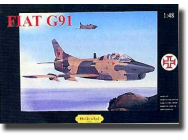 Fiat G91 1/48 Ocidental 0203 - OCR-0203