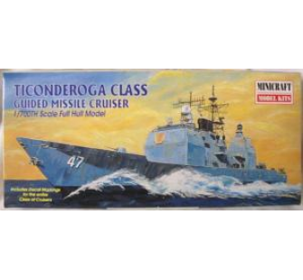 Ticonderoga Class Guided missile cruiser 1/700 Minicraft 11310 - MMK-11310