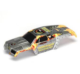 Body, Maximum Destruction, Officially Licensed Monster Jam replica (painted, decals applied) Traxxas - TRX-3682