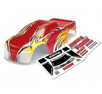 Body, T-Maxx (USHRA Special Edition) (Red)/decal sheet (2) Traxxas - TRX-49162