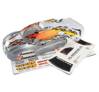 Body, Stadium Maxx (ProGraphix w/window/grill decals) Traxxas - TRX-5112X