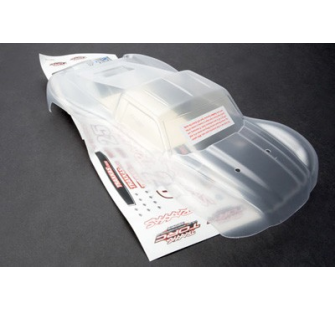 Body, 1/16 Slash (clear, requires painting)/ grill, lights decal sheet Traxxas - TRX-7012