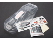 Body, 1/16 E-Revo (clear, requires painting)/ grill and lights decal sheet Traxxas - TRX-7111
