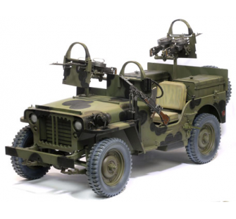 Jeep SAS Front Europeen Dragon 1/6 - T2M-D75042
