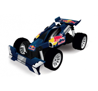 buggy bleu 1 16 me red bull radiocommand de carrera. Black Bedroom Furniture Sets. Home Design Ideas