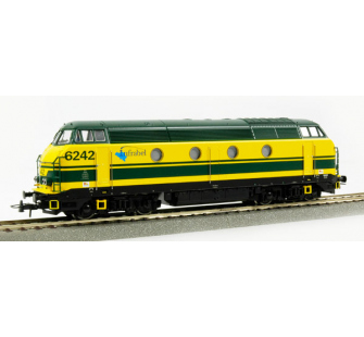 Locomotive serie62 INFRABEL sncb Roco HO - T2M-R62778