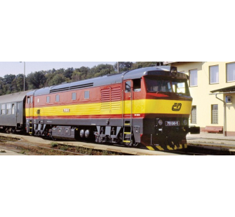 Locomotive Rh751 sound CD Roco HO - T2M-R72923