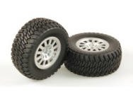 HLNA0154 - TYRES AT2 SILVER WHEEL PAIR (DOMINUS - 9951294 - JP-9951294