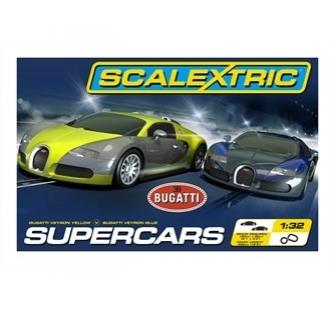 coffret super cars scalextric c1297 miniplanes. Black Bedroom Furniture Sets. Home Design Ideas