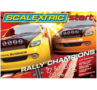 Coffret Rally Champions Start Scalextric - SCA-C1287
