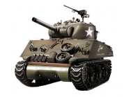 Tank Sherman obusier 105mm M4A3 RC Bille 6mm 1:16e Son et Fumee - TRO-1112438981