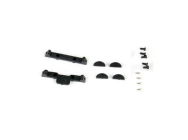 Spare Plastic Parts for Xtreme CF Skid (1 set) Blade 130X - XTR-B130X11-P1