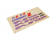 Carbon-Z Splendor - Set autocollants - EFL1025017 - EFL1025017