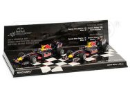 Coffret Red Bull RB6 2010 Minichamps 1/43 - T2M-412100506