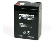 6V-4 AMP POWERCELL GEL BATTERY  jp-5510035 - JP-5510035