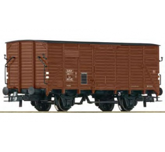 Wagon couvert G10 SNCF Roco HO - T2M-R66748